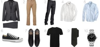 9 Fashion Staples Every Man Needs in His Wardrobe