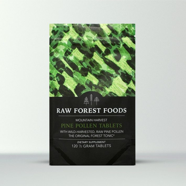 RAW Pine Pollen Tablet